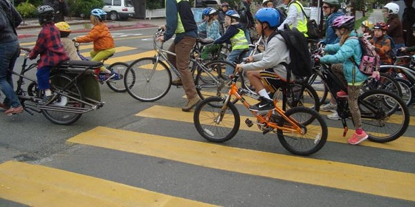 Record Participation Expected for Bike to School Day: Thursday, May 8, 2014