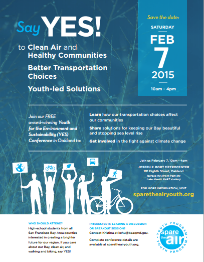 Youth for the Environment and Sustainability Conference, Oakland